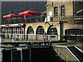 Once an industrial location, the Regent's Canal here is now surrounded by Camden Market and any number of pubs and clubs.