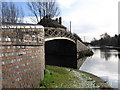SP0388 : Smethwick - canal junction near Soho Train Depot by Dave Bevis