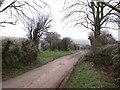 SX1884 : Lane to St Cleher by Derek Harper