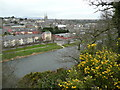 S9739 : Vantage point for Enniscorthy by Jonathan Billinger