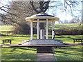 SU9972 : Magna Carta Memorial, Runnymede by Len Williams