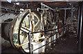 TQ9072 : Wiley Whirley ex-steam crane, Queenborough by Chris Allen