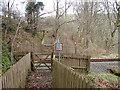 SN6878 : Vale of Rheidol Railway foot crossing by John Lucas