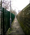 SE1230 : Footpath - Cooper Lane by Betty Longbottom