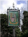 TL4752 : Stapleford Village Sign by Keith Edkins