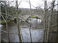 SK2476 : Froggatt Bridge and the River Derwent by Alan Heardman