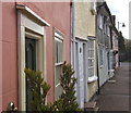 TL9370 : Row of cottages, High Street, Ixworth : Week 13