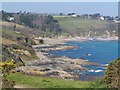 SW7928 : Bream Cove from Rosemullion Head by David Martin