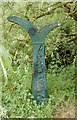 ST9970 : National Cycle Network Sign by John Sparshatt