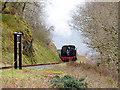 SN7277 : Rhiwfron Station, Vale of Rheidol Railway by John Lucas