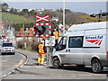 SN5980 : Level crossing maintenance by John Lucas