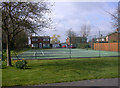 TL4047 : Tennis Courts, West Hill Road by Keith Edkins