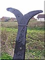 TQ9065 : National Cycle Network milepost by Richard Dorrell