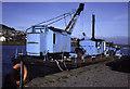 NH6546 : Muirtown Basin, Inverness + dredger Fairway by Chris Allen