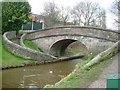 SJ8762 : Snake Bridge no 76, Macclesfield Canal by Ray Folwell