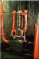 SZ4994 : Shambler's Wharf, beam engine. by Chris Allen
