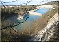 SU7599 : Chinnor: Flooded chalk quarry & SSSI by Nigel Cox
