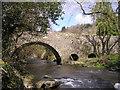 SN4440 : Bridge over the Afon Clettwr : Week 14