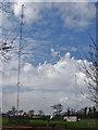 TA1625 : Paull radio masts by Paul Harrop