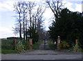 TL4946 : Entrance to Hinxton Grange by Keith Edkins