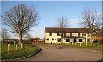 SP8106 : Smokey Row: The Swan public house by Nigel Cox