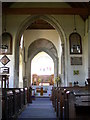 TL4748 : Whittlesford church, interior by Keith Edkins
