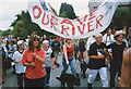 SX8473 : Save our river by paul dickson