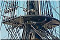 SU6200 : A maze of ropes on the fore mast of HMS Victory, Portsmouth : Week 15