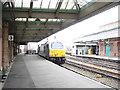SJ4912 : Wrexham & Shropshire Railway train departing from Shrewsbury by John Lucas