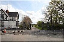 N3441 : Entrance Gate by kevin higgins