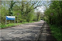 SP2777 : The boundary of Coventry on Duggins Lane by Keith Williams