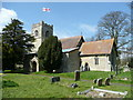 SP7930 : St. Nicholas' church, Little Horwood by Jonathan Billinger