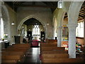 SP7930 : St. Nicholas' church interior by Jonathan Billinger