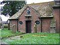 SJ8067 : The North Porch of St Peter's Church, Swettenham by Elliott Simpson