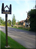 TQ6741 : Brenchley Village Sign by Colin Smith