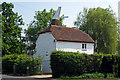 TQ8140 : Weaversden Oast, Biddenden Road, Frittenden, Kent by Oast House Archive