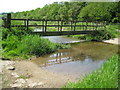 TQ0187 : River Misbourne near Higher Denham by Nigel Cox