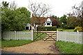 SU8672 : Rose Cottage, Bottle Lane by Julian P Guffogg