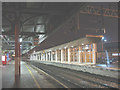 SJ8989 : Platform Zero, Stockport station by Stephen Craven