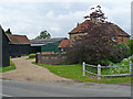 TL0744 : Entrance to Cotton End Farm, Wilstead by Robin Drayton
