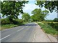 SP8619 : Winslow Road, View towards Wingrave crossroads. by Mr Biz