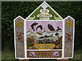 SK3658 : Brackenfield - Methodist Church Well Dressing 2008 by Alan Heardman