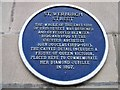 Photo of John Douglas blue plaque