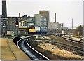 SJ9598 : Stalybridge signalbox  1989 by Peter Whatley