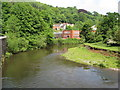 SK2957 : River Derwent View - Looking towards Masson Mills by Alan Heardman