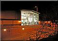 SJ4067 : Fitness centre at night by Dennis Turner
