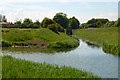 TA3402 : Junction of Louth Navigation and Tetney Drain by Jon Holland