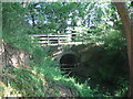 SX1999 : Bridge over Wanson Water by Phil Williams