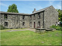 SE0023 : Former vicarage and school, Cragg Vale, Mytholmroyd by Humphrey Bolton