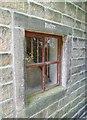 SE0023 : Dairy window, Cragg Vale, Mytholmroyd by Humphrey Bolton